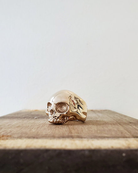 Keith Skull Ring - 10K Gold