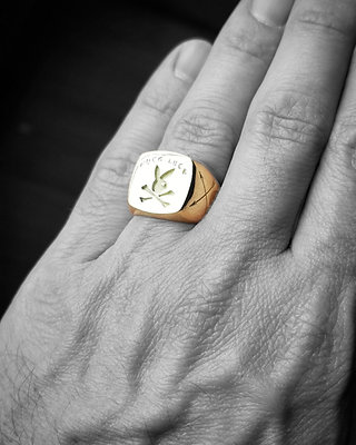 RAFFLE - 10k GOLD | Fuck Luck Playboy Bunny Ring - Ticket Entry