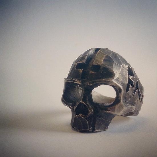 Faithless Skull SILVER Ring