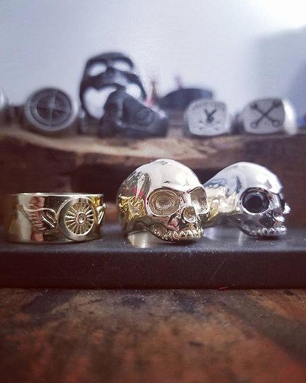 Keith Skull Ring - 10K Gold
