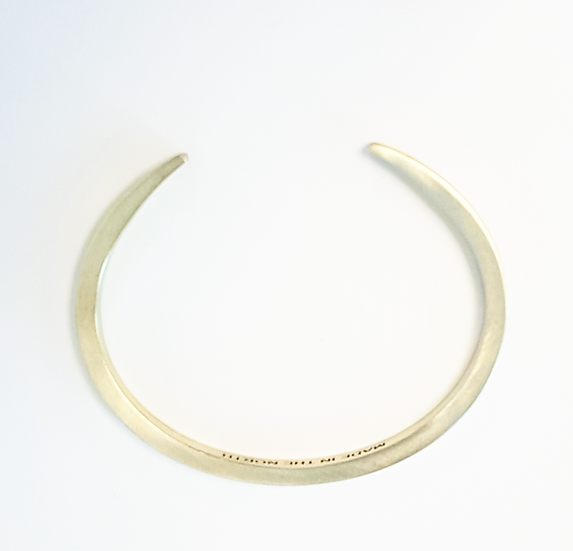 """Made In The North"" Unisex Brass Cuff bangle bracelet"