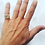 Thumbnail: TCB Skull Biker Ring - 10k Gold