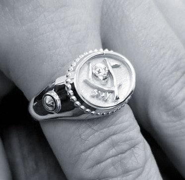 Death SUX Skull Ring - Silver