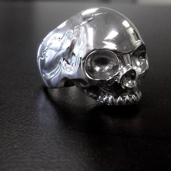 Keith Skull Ring - Silver