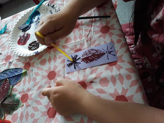 Die kleinen Künstler malen weiter!