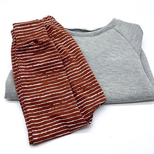 Basic Sweater mit Slim Harem Gr. 98/104