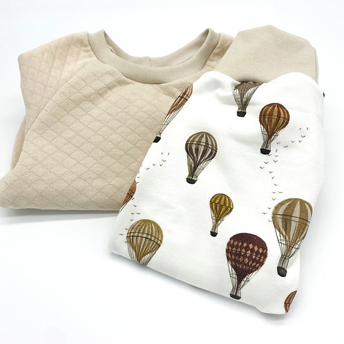 Basic Sweater mit Baggy Pants Gr.74/80