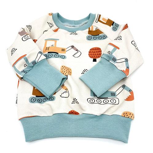 Basic Sweater I dig you Bagger Gr. 74/80