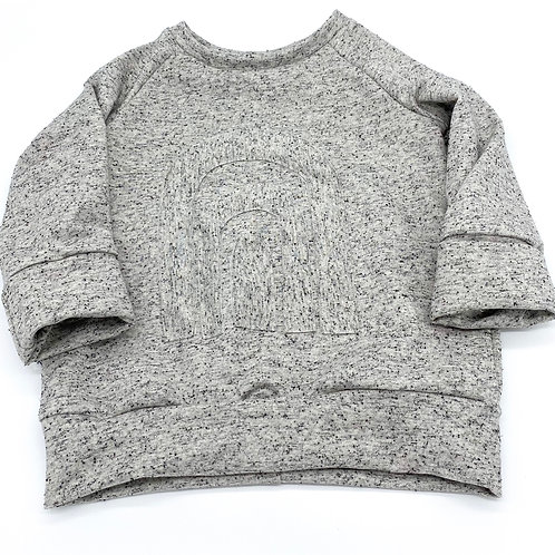 Basic Sweater Konfetti Rainbow Gr. 98/104