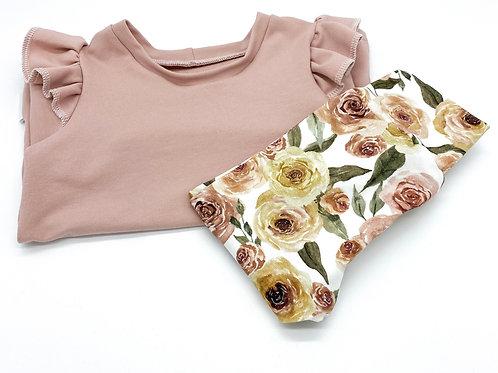 Flutter Shirt mit Leggings Gr. 86