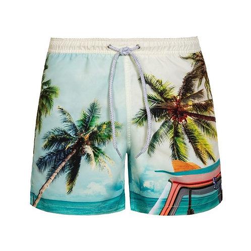 PILY Q shorts de banho VW