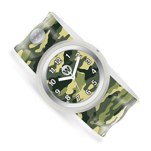 WATCHITUDE relógio slap army camo