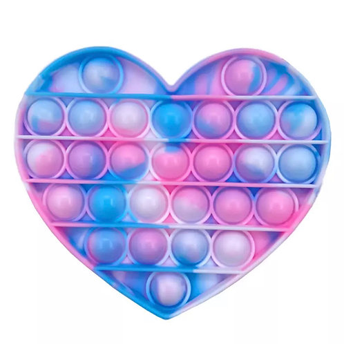 ANNA LOVES KAKI pop it tie dye coração