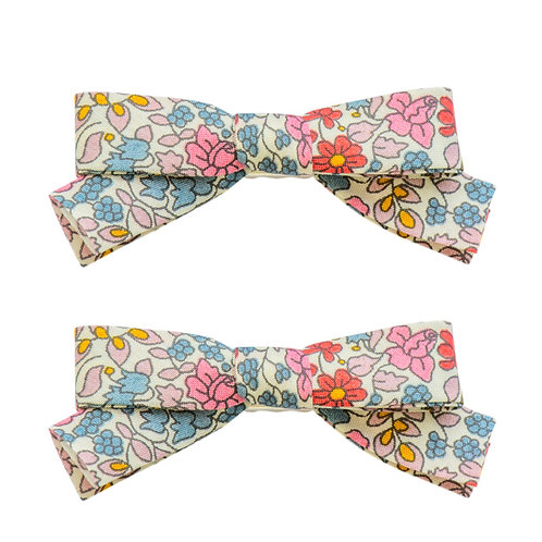 FIVE/ELEVEN dupla de laços Liberty® floral garden