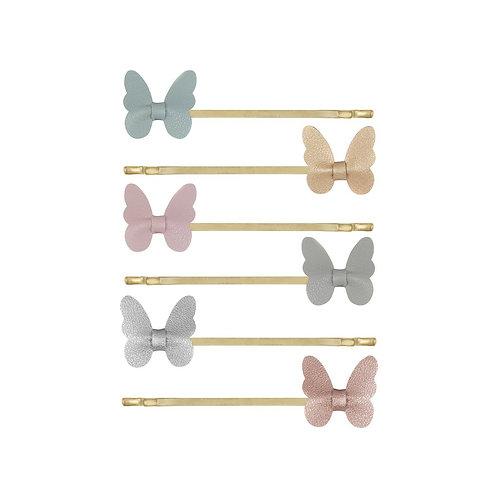 MIMI AND LULA kit de grampos borboleta