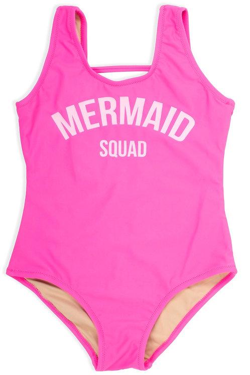 SHADE CRITTERS  maiô mermaid squad pink