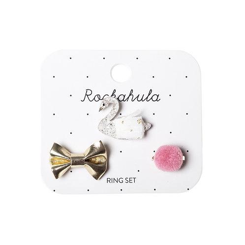 ROCKAHULA KIDS kit de 3 anéis cisne