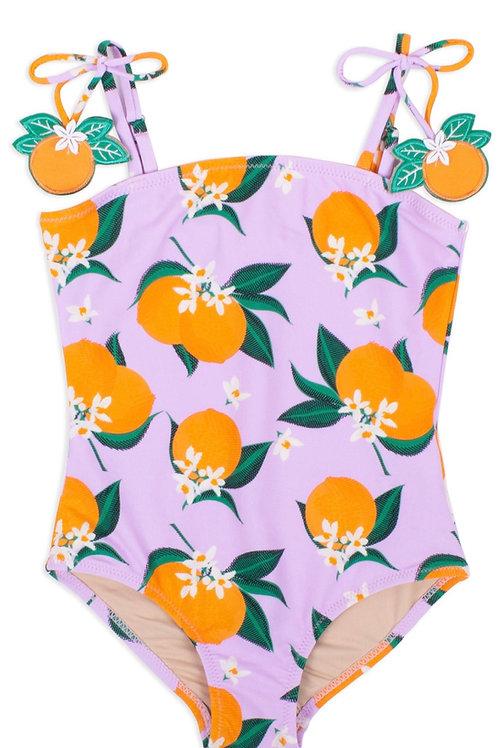SHADE CRITTERS maiô laranja