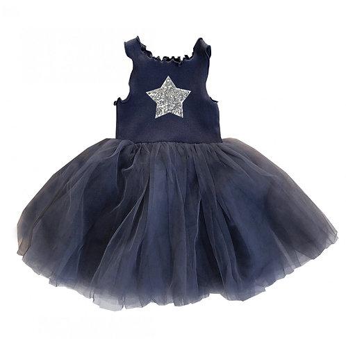 ANNA LOVES KAKI vestido holly preto