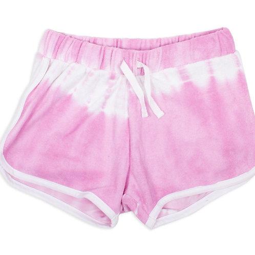 SHADE CRITTERS shorts tie dye lilás