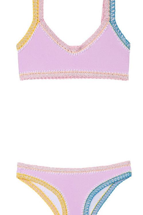 PILY Q bikini sporty rainbow
