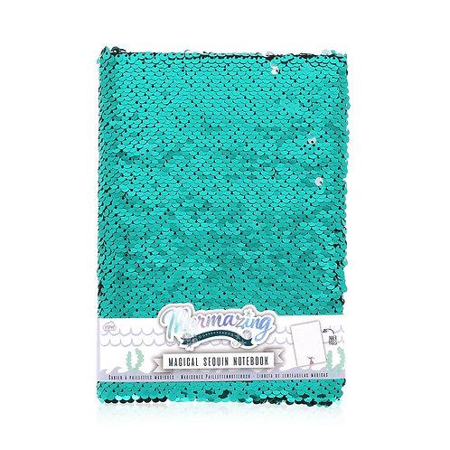 NPW GIFTS caderno de lantejoulas mermazing