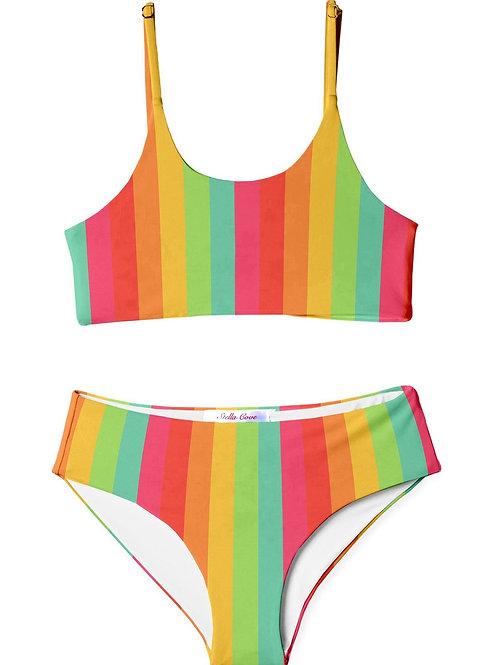 STELLA COVE bikini happy