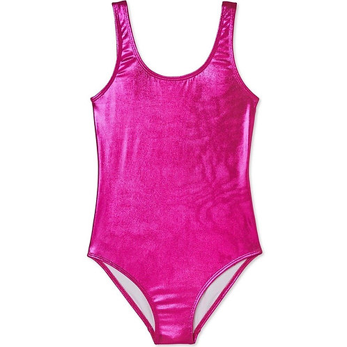 STELLA COVE maiô metálico rosa