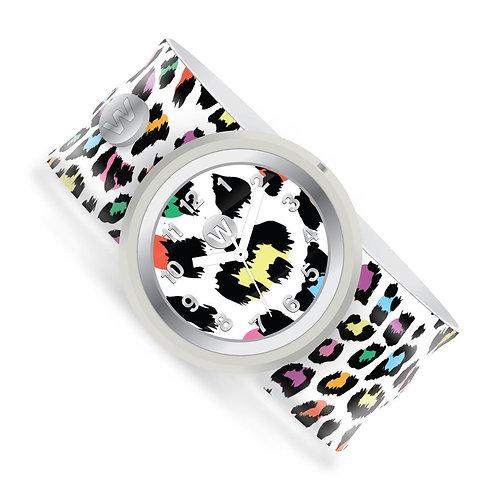 WATCHITUDE relógio slap Leopard Camo