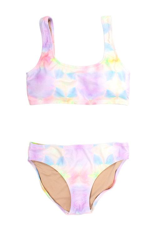 SHADE CRITTERS bikini multi tie dye