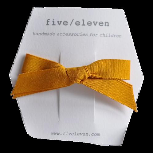FIVE/ELEVEN laço tecido saffron