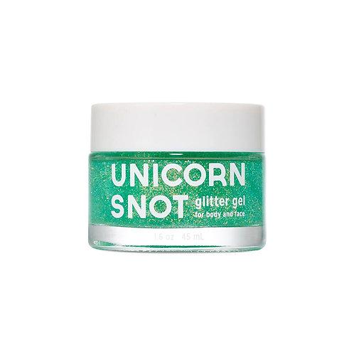 UNICORN SNOT glitter gel verde