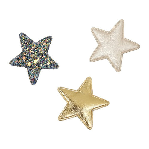 MIMI & LULA rainbow superstar clips