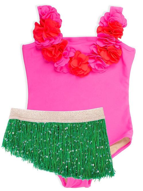 SHADE CRITTERS maiô hula girl com sainha