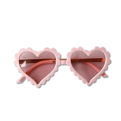 ANNA LOVES KAKI óculos de sol new heart
