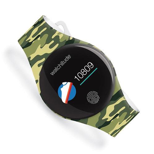 WATCHITUDE relógio smartwatch Army Camo