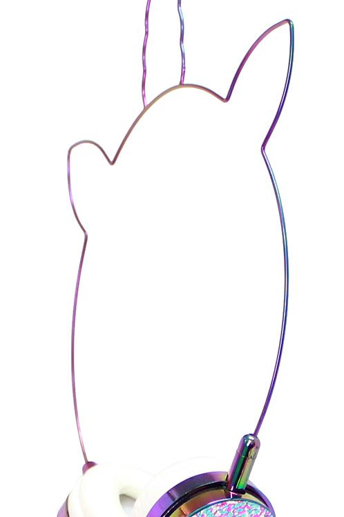 AMERICAN JEWEL fones de ouvido unicorn rainbow