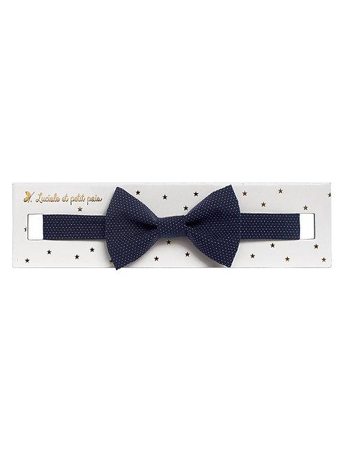 LUCIOLE & PETIT POIS gravata borboleta navy