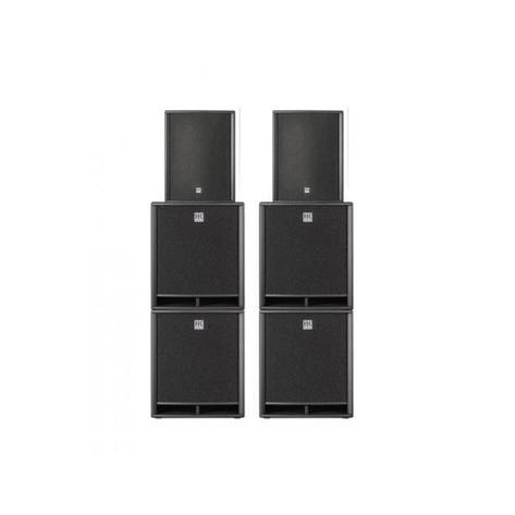 Anlage HK Premium Pro 15D & 4x HK Premium Pro Sub