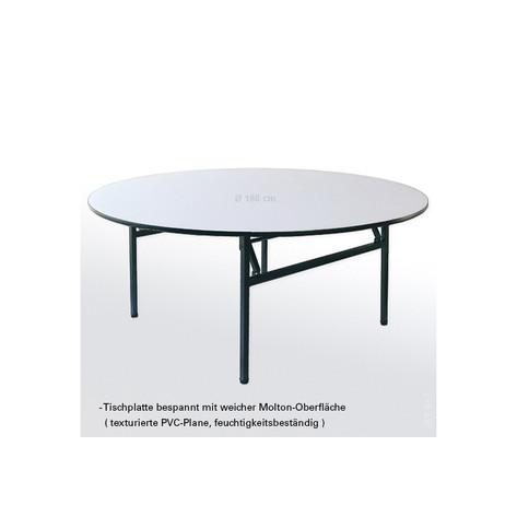 Banketttisch rund 140 cm