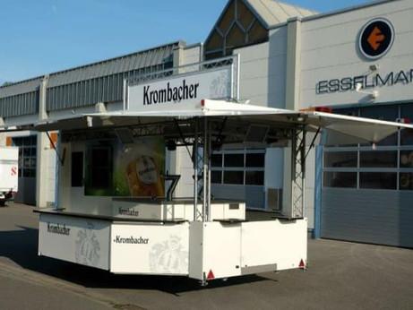 Bierwagen mit Kühlzelle