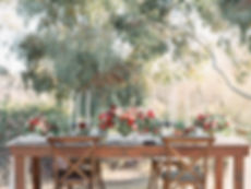 Colorful Wedding Tablescape at Springs Preserve