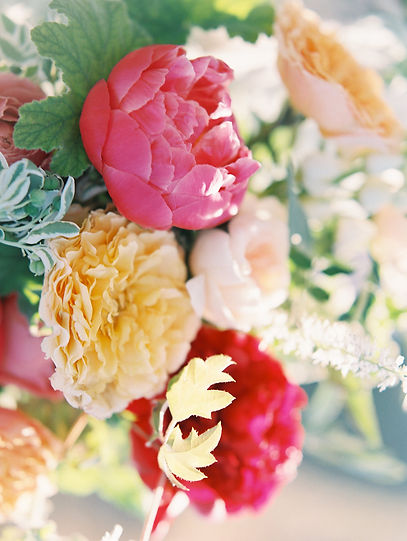 Colorful Weddng Flowers