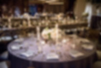 Wedding Reception with Candles