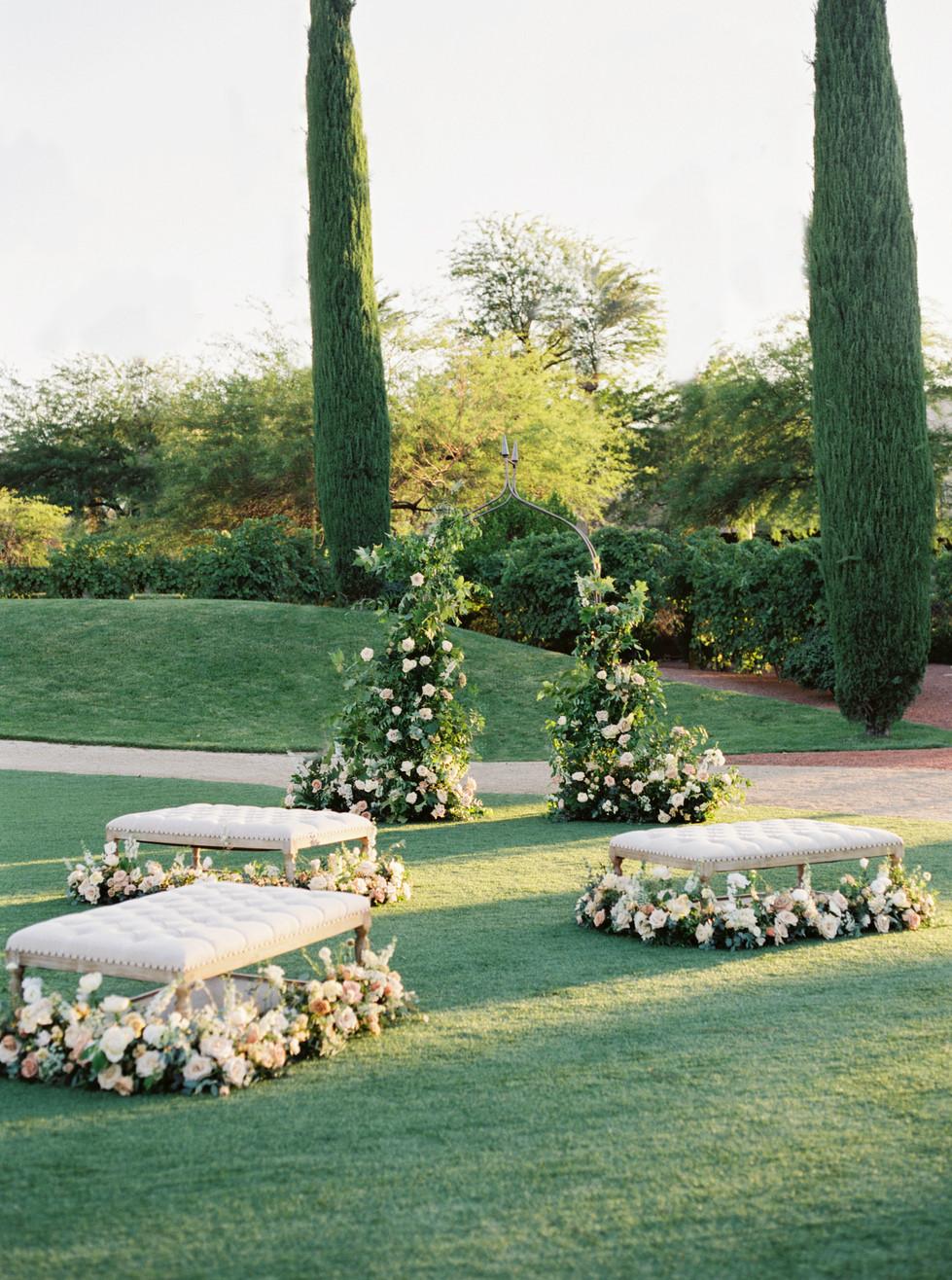 Micro wedding at Green Valley Ranch Resort. Photo: Lianna Marie