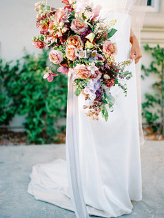 BRIDAL INSPIRATION IN MAUVE AND PLUM