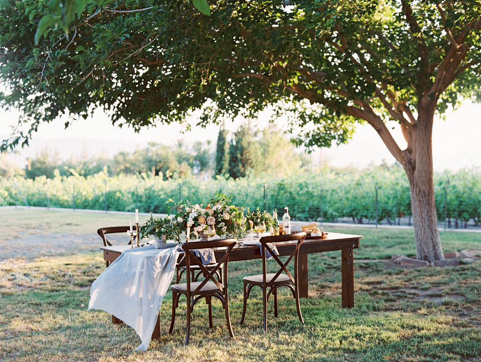 Al fresco dining at Pahrump Winery. Photo: Gaby Jeter