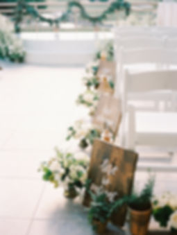 Wedding Chair Markers