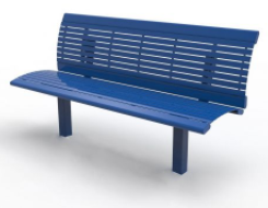 R Steel Series Bench
