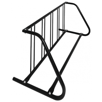 5 Bike Single Sided Grid Rack